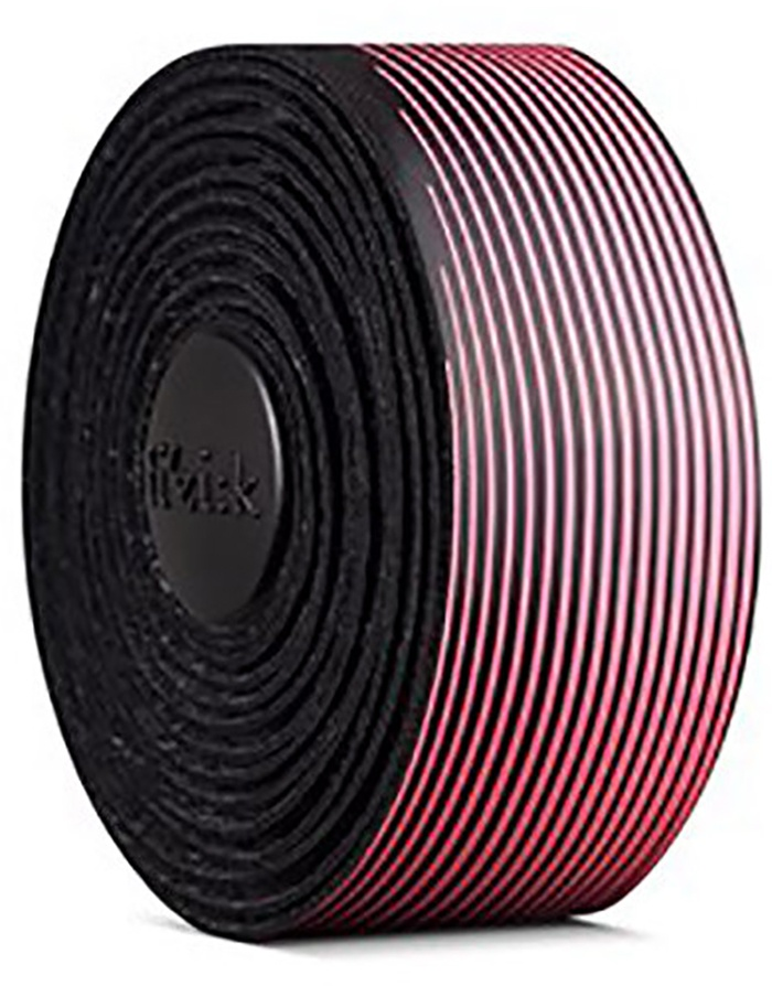 FIZIK Bar tape Vento Microtex Tacky Multi-Color, 2 mm - Sort/Pink