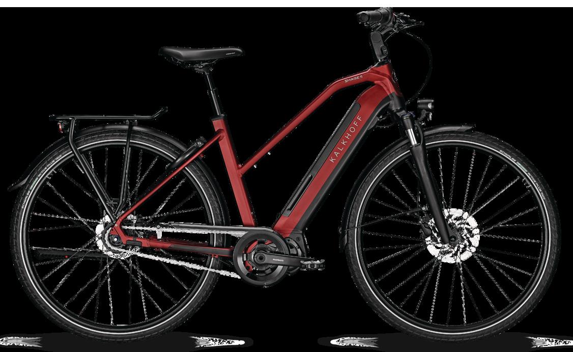 Kalkhoff Image 5.S Move Dame 2020 - Rød Cykler > Elcykler