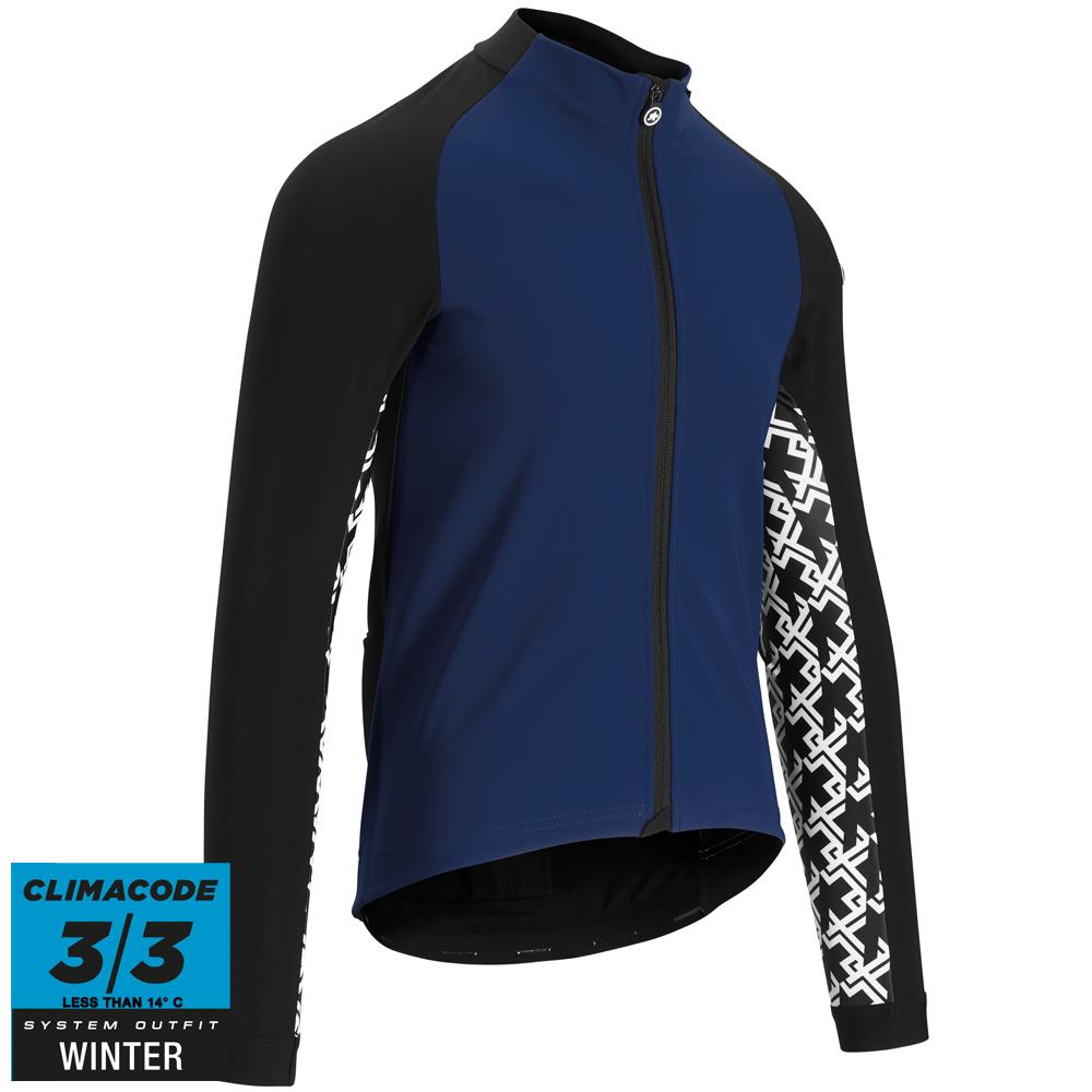 Assos Assos Jakke Mille Gt Jacket Winter - Blå Beklædning > Cykeltøj Til Herre