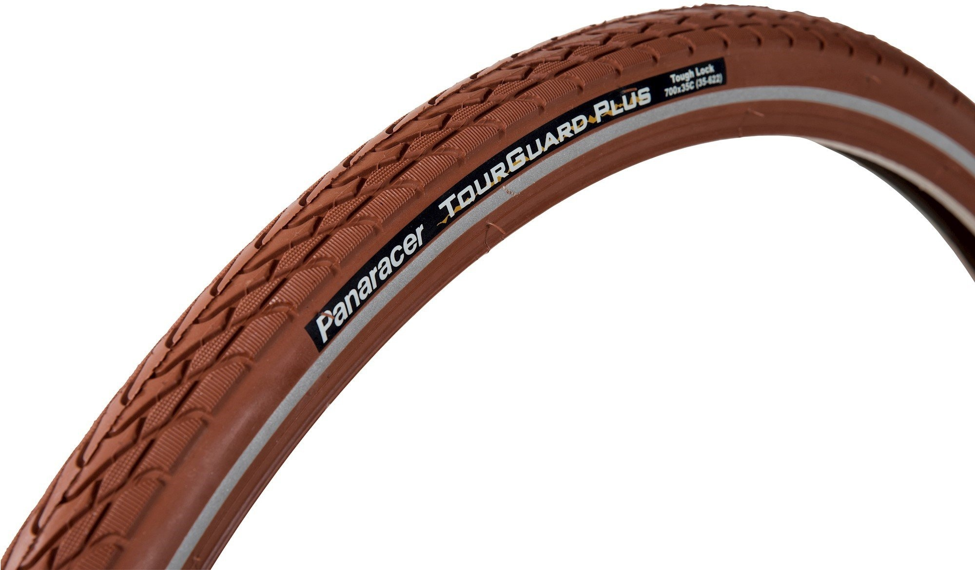 "Panaracer Tourguard+ brun m/refleks 4.5mm gummi indlæg 28"""