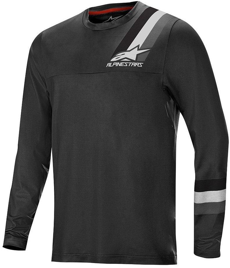 AlpineStars Alps 4.0 LS jersey MTB Bluse, Sort/Grå