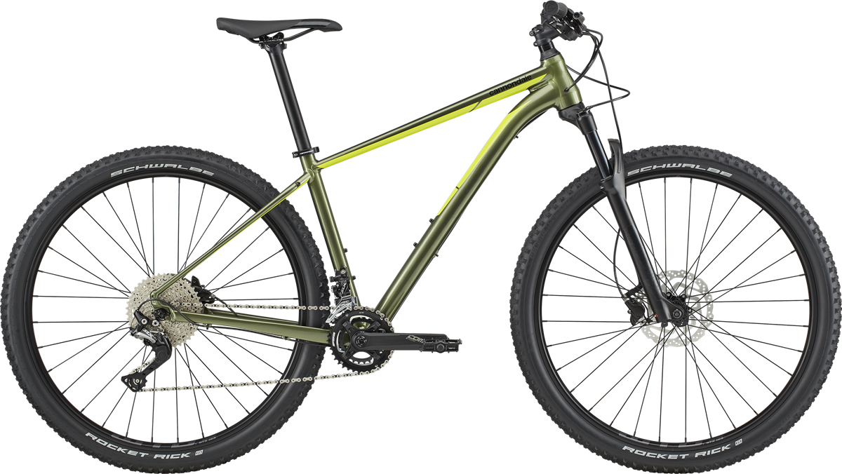 "Cannondale Trail 3 29"" 2020 - Grøn"