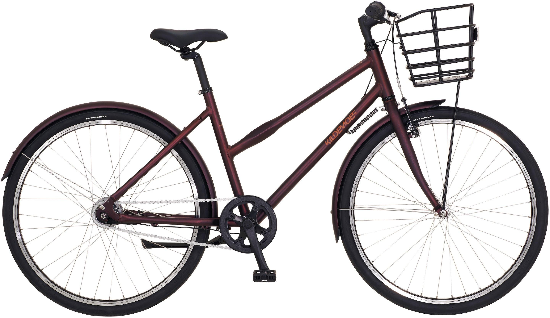 """Kildemoes Bikerz Urban 7g Pige 26"""" 2020 - Mørkerød"""