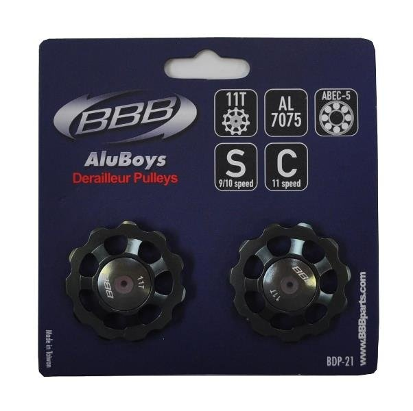 BBB Pulley 11t AluBoys keramiske lejer 9/10/11g - BDP-21