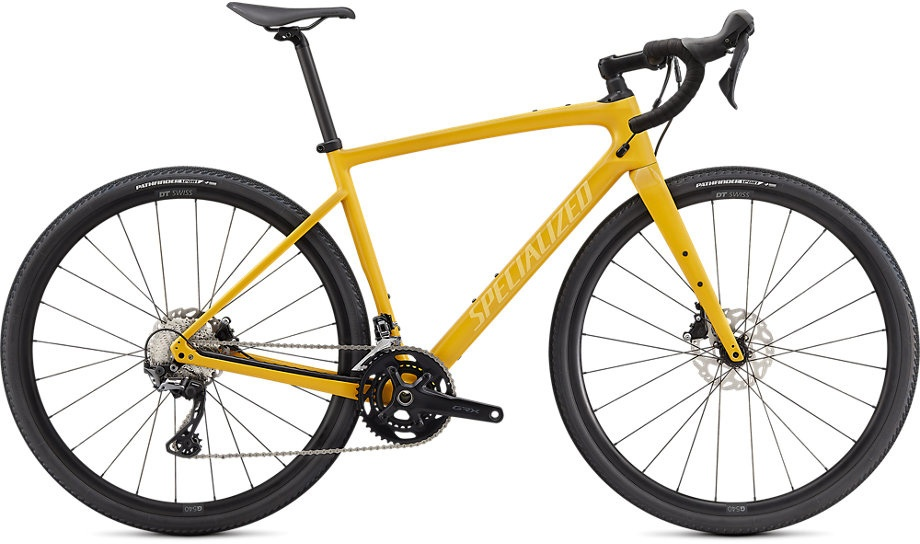 Specialized Diverge Sport Carbon 2021 - gul