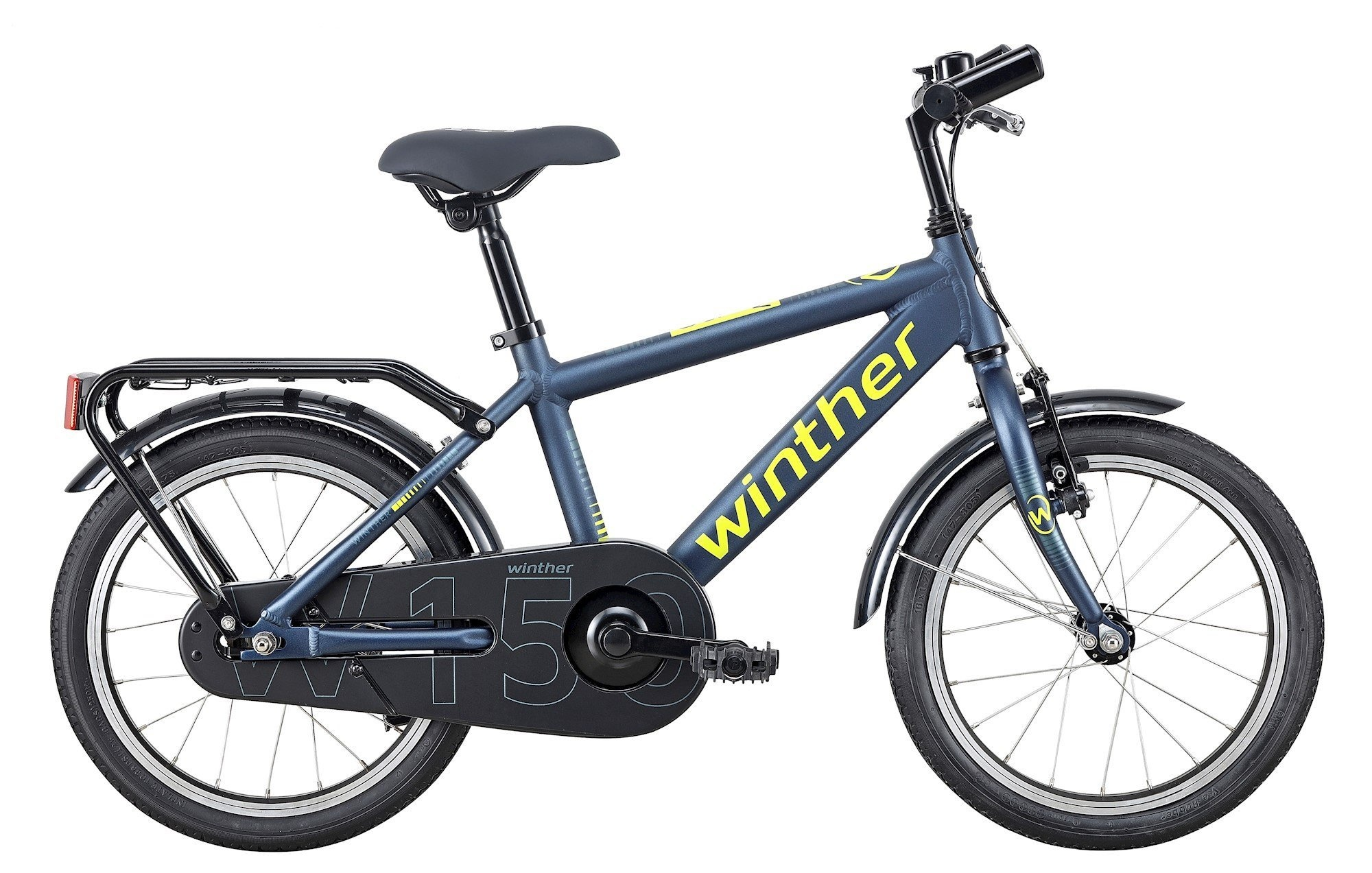 """Winther 150 16"""" Dreng 1g 2020 - Blå"""