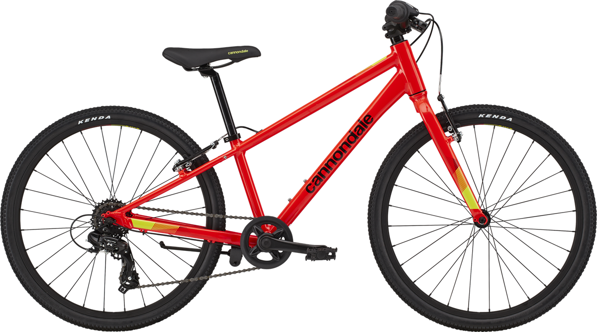 "Cannondale Kids Quick 24"" 2020 - Rød"