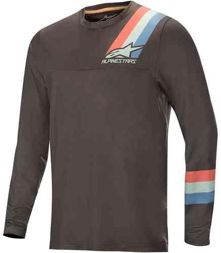 AlpineStars Alps 4.0 LS jersey MTB Bluse, Mørk Grå