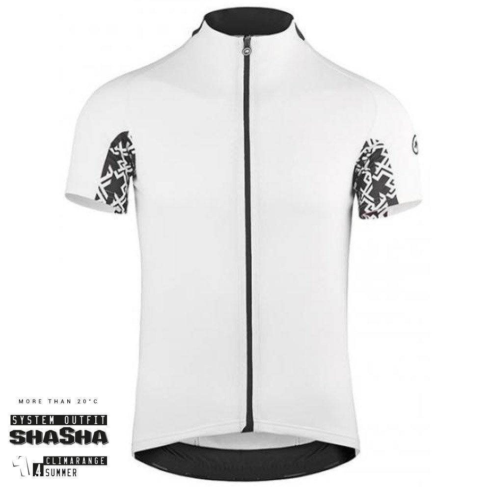 Assos Cykeltrøje Mille GT Short Sleeve Jersey, Hvid
