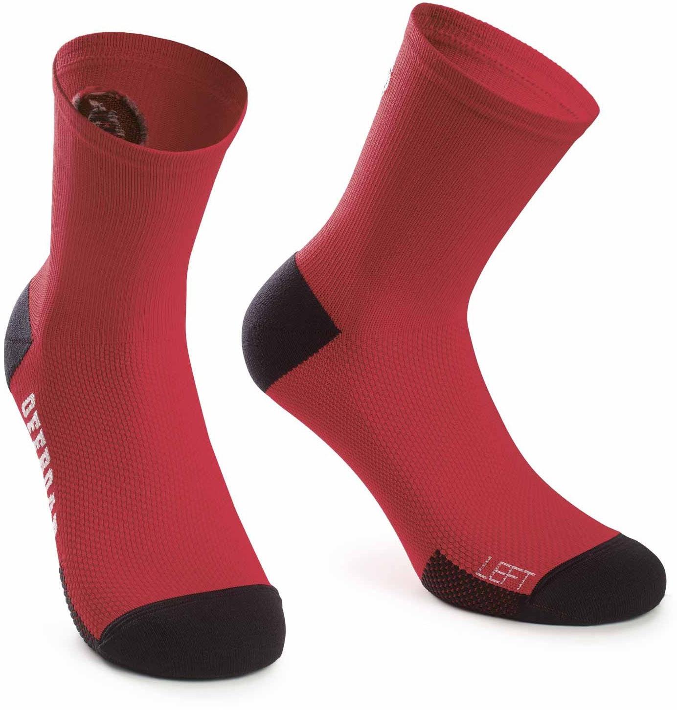 assos xc sokker - rød fra assos