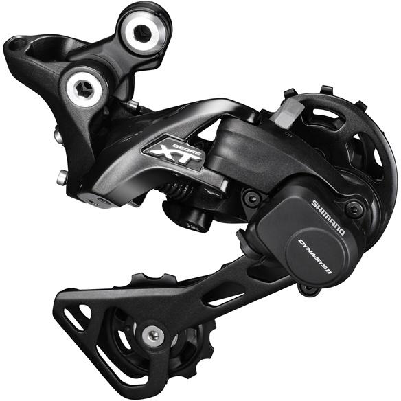 Køb Shimano Bagskifter XT M8000 Shadow+ – 11 Speed Medium Arm – Sort