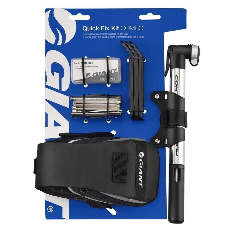 GIANT Quick Fix Combo Kit m. Mini Pumpe