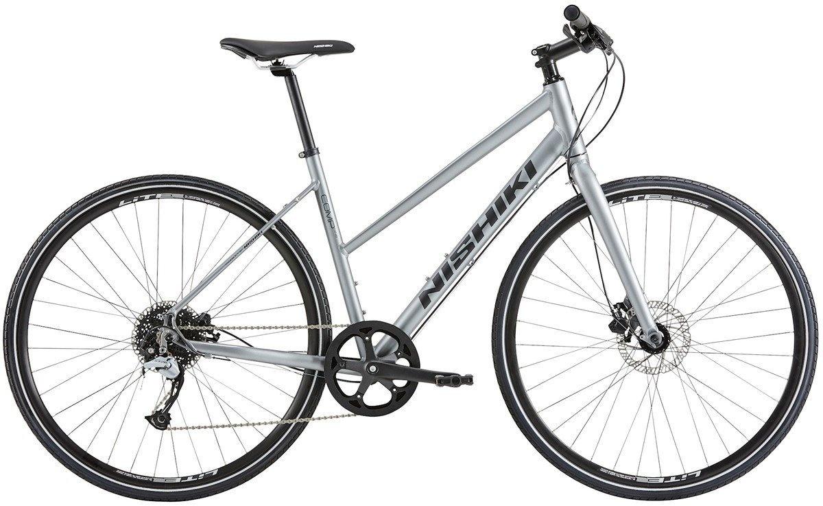 Nishiki Comp Nine Dame 9G Skivebremse 2020 - Grå Cykler > Damecykler