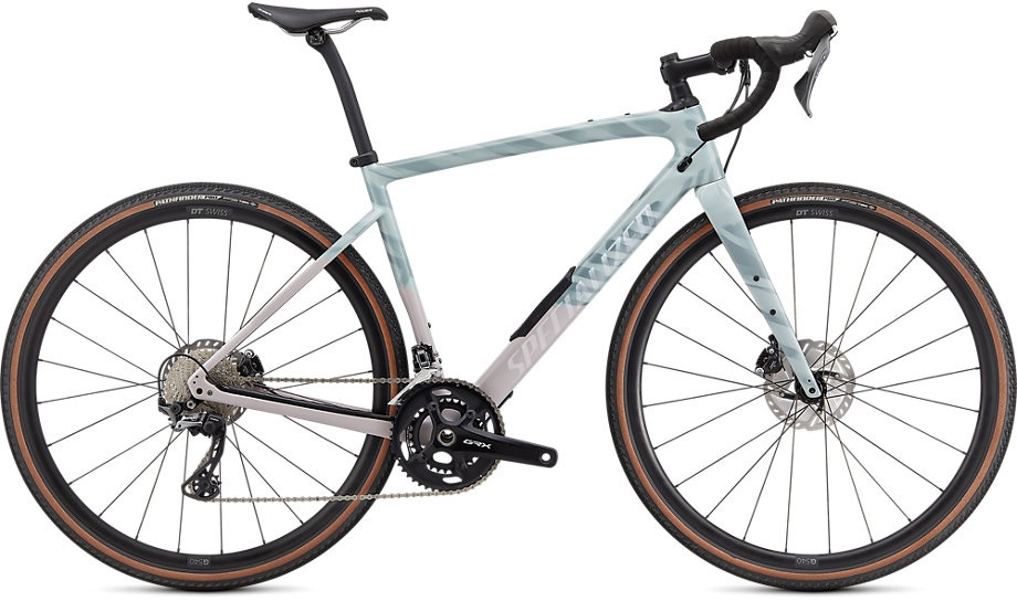 Specialized Diverge Comp Carbon 2021 - blå