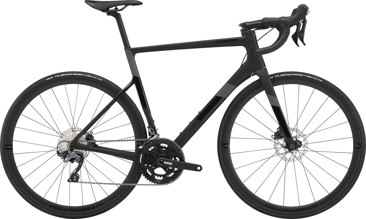 Cannondale SuperSix EVO Carbon Disc Ultegra 2020 - Sort