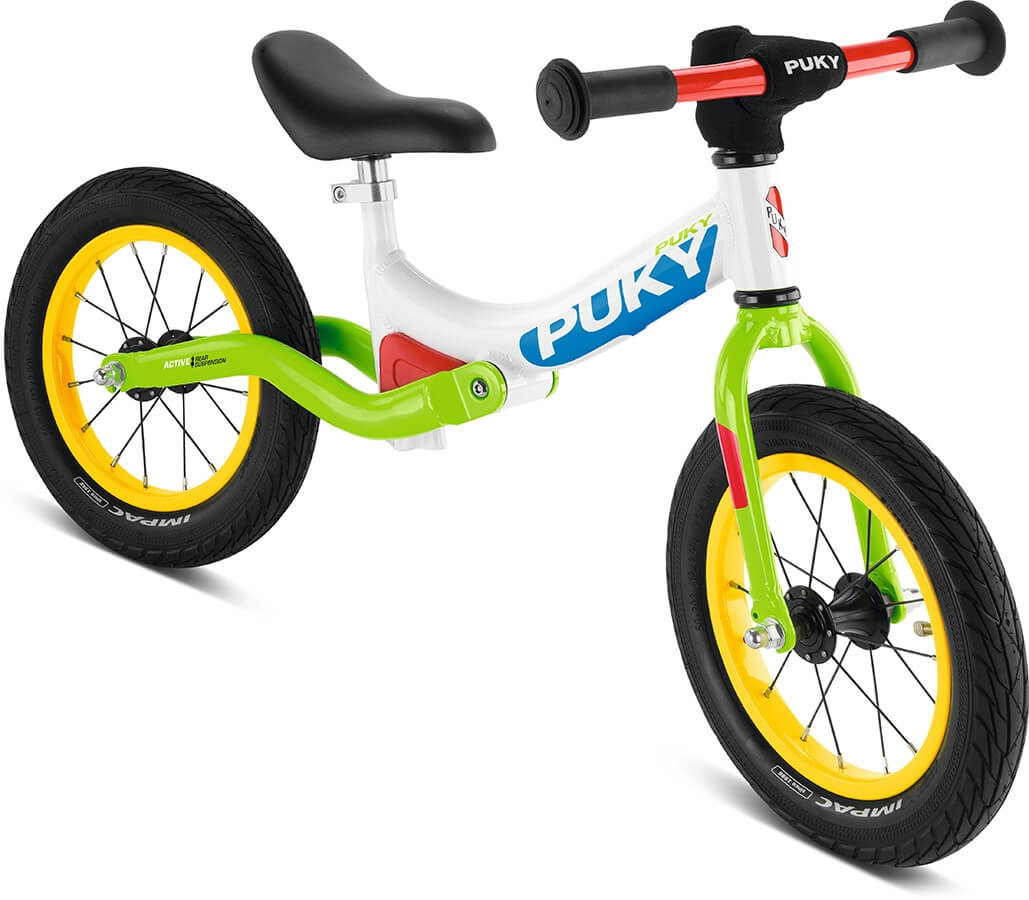 PUKY LR Ride Løbecykel, Hvid/Grøn