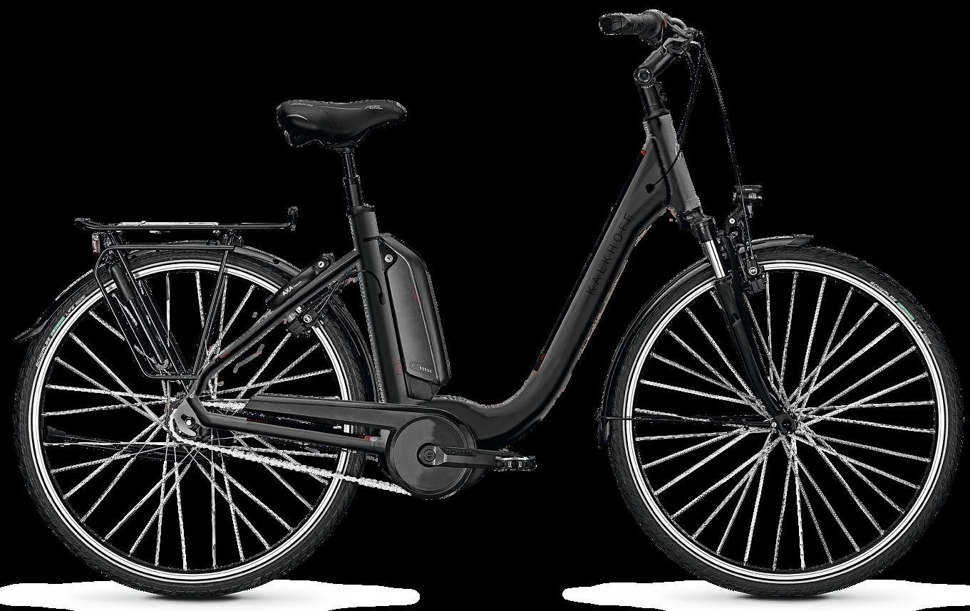Kalkhoff Kalkhoff Agattu 3.B Move R Dame 2019 - Sort Cykler > Elcykler