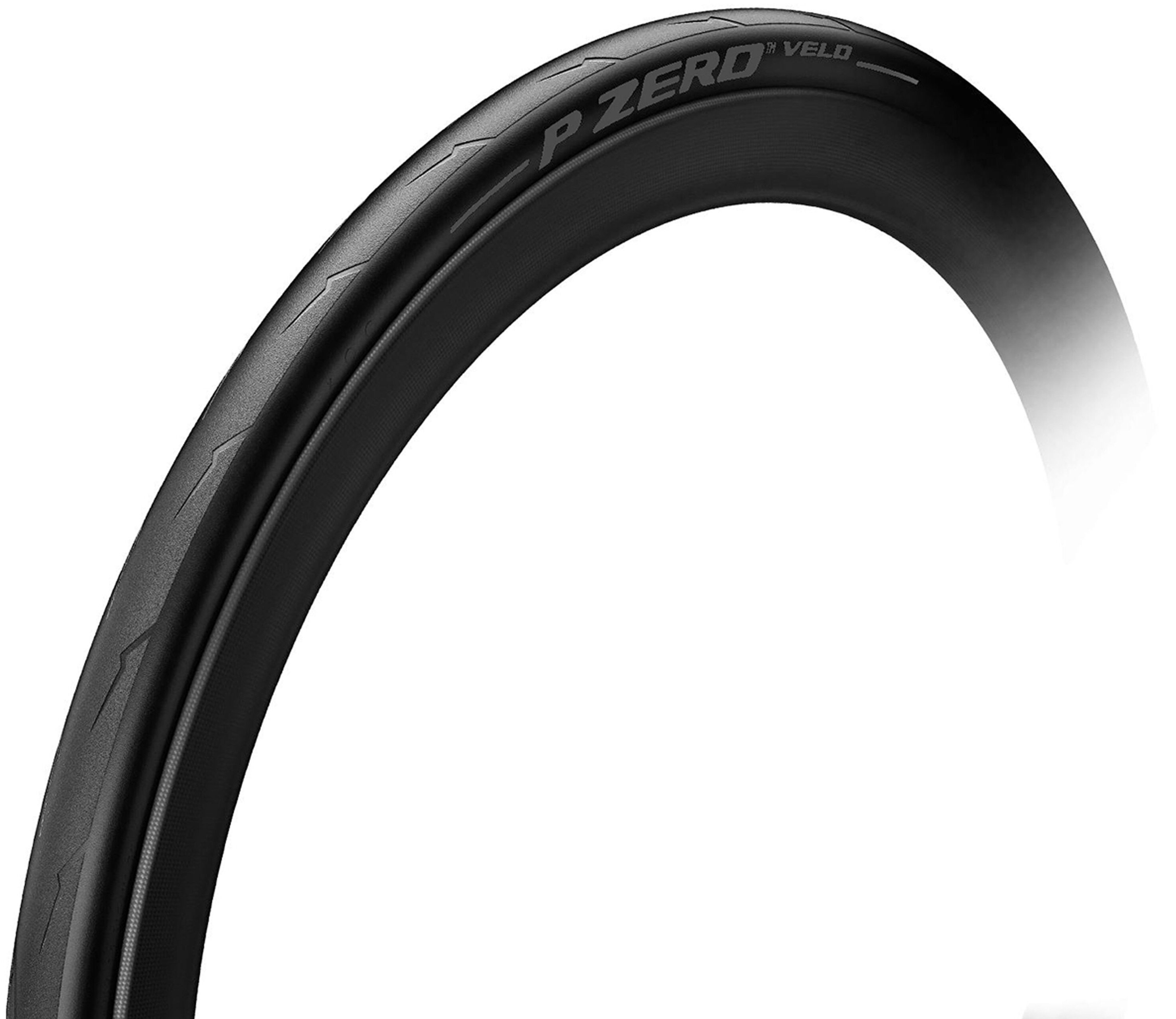 Pirelli P Zero Velo Pure Performance Color Edition 700x25c Foldedæk - Stealth