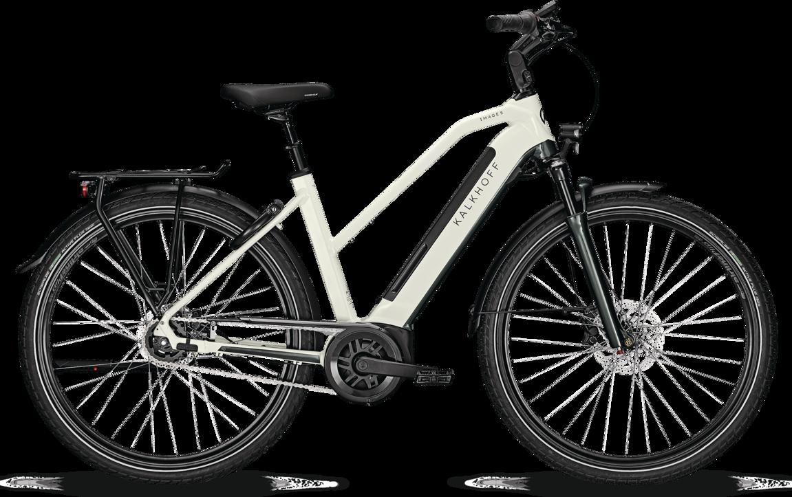 Kalkhoff Kalkhoff Image 5.B Move+ Dame 2021 - Hvid Cykler > Elcykler