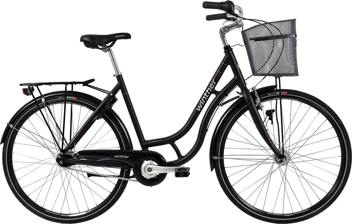 Winther Shopping Classic Alu Dame 7G 2020 - Mat Sort Cykler > Damecykler