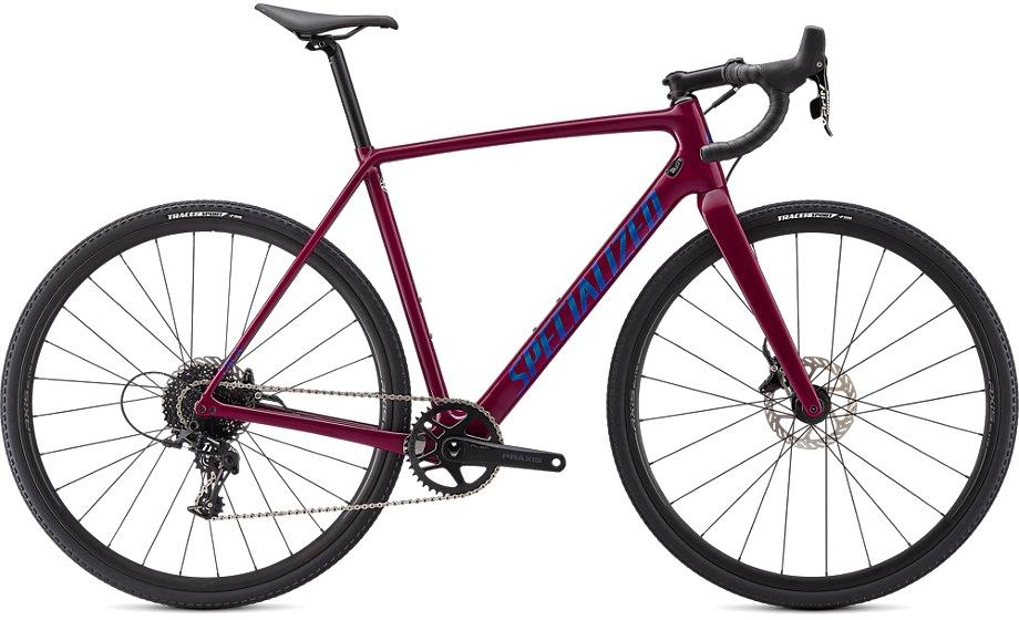 Specialized Crux 2021 - Blå/Grøn | cross-cykel