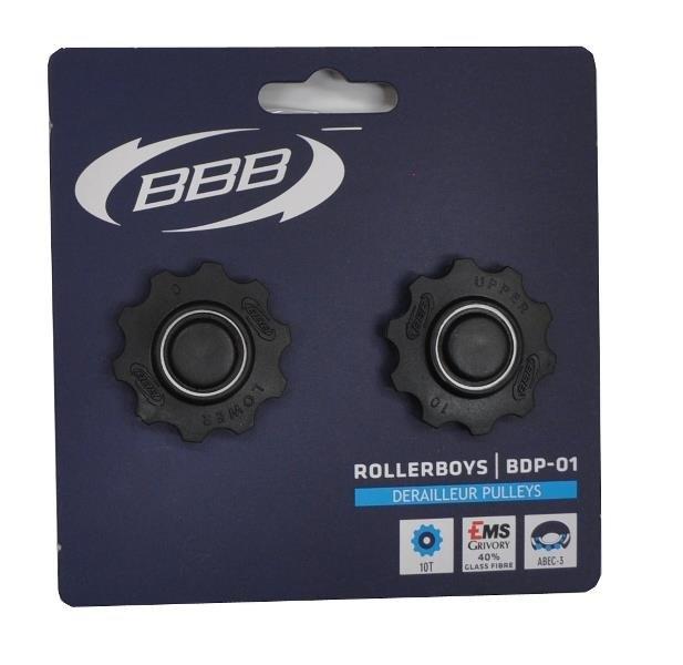 BBB Pulley 10t RollerBoys lukkede lejer 8/9/10g - BDP-01