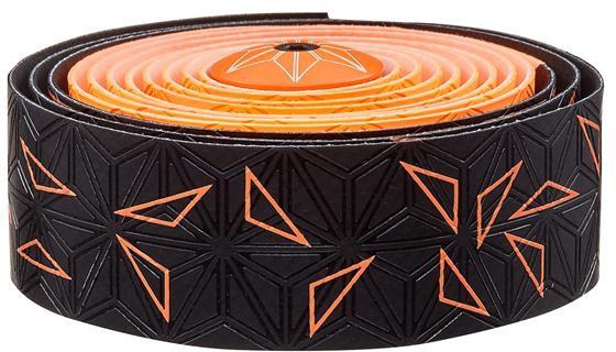 Supacaz Styrbånd Sticky KUSH Star Fade - Orange