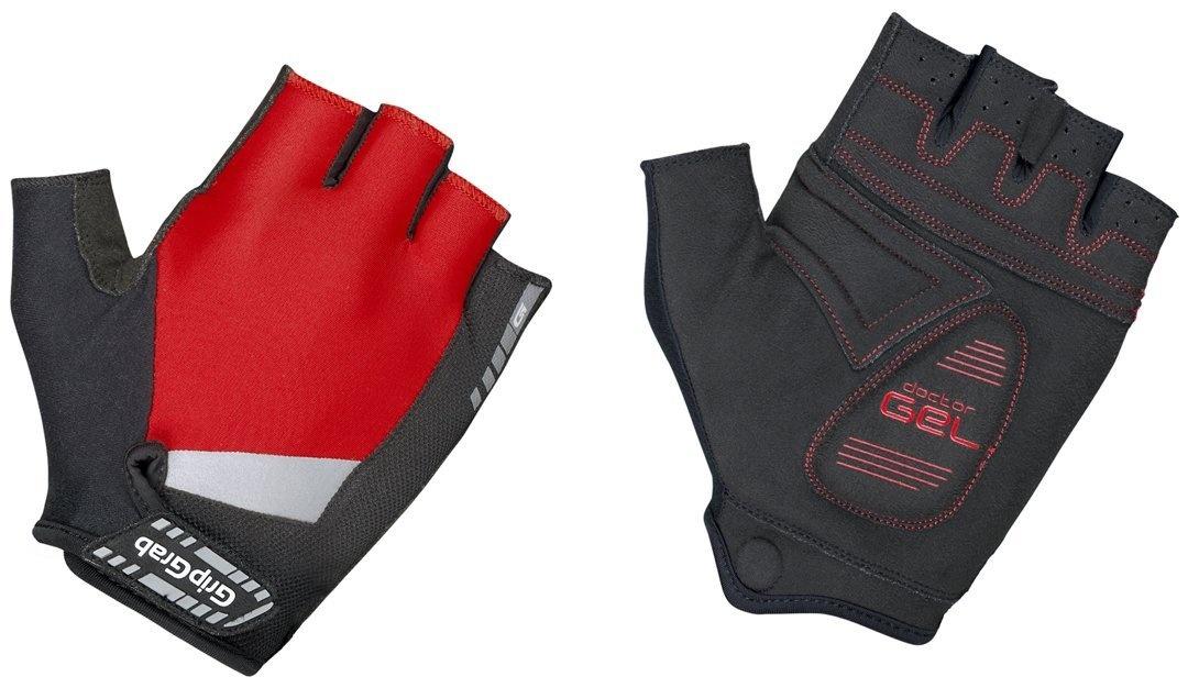 Gripgrab Supergel Cykelhandske - Rød Beklædning > Cykeltøj Til Herre