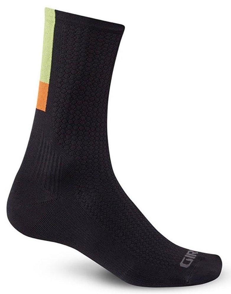 Giro Sokker HRC TEAM 15cm ankel - sort/lime