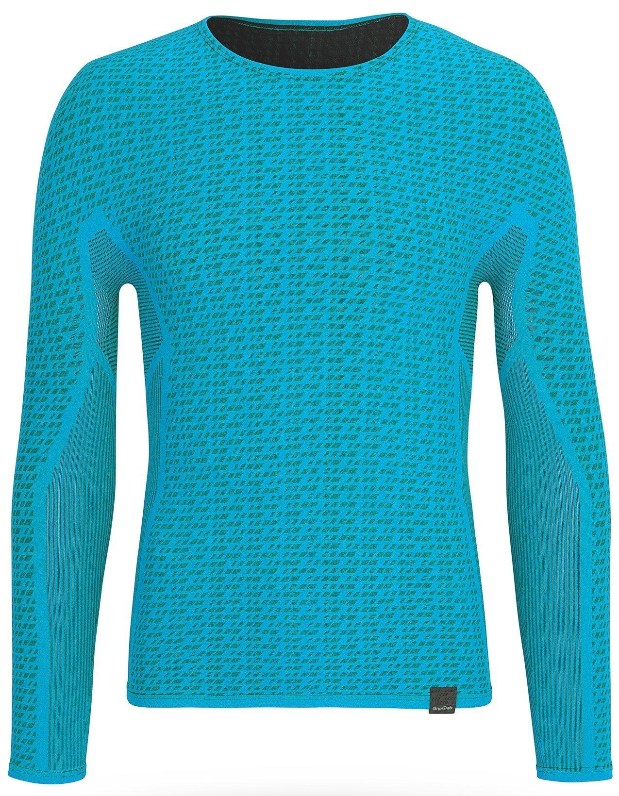 Gripgrab Freedom Seamless Thermal Base Layer - Blue Beklædning > Cykeltøj Til Herre
