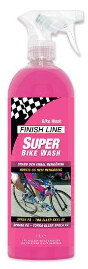 Finish Line - Bike Wash