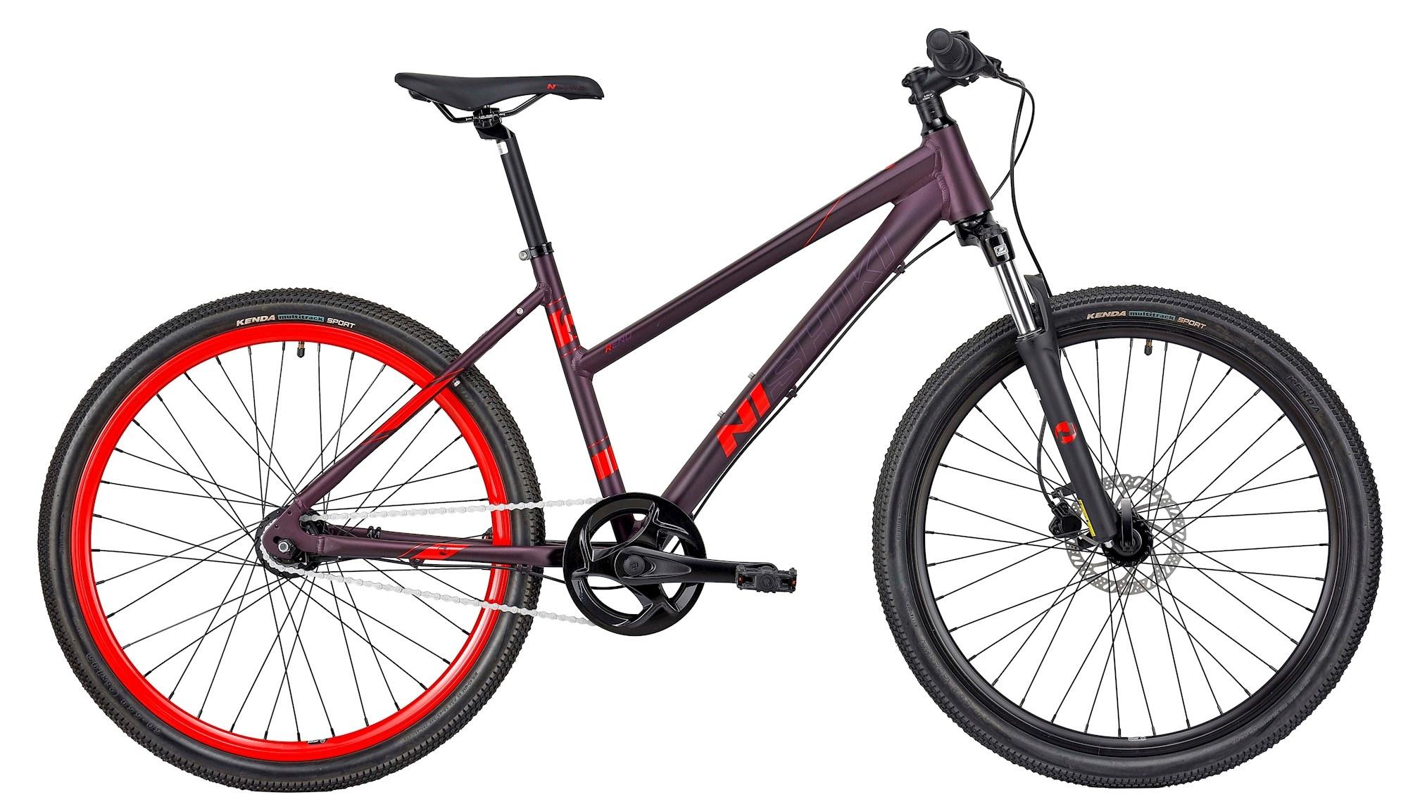 "Nishiki Reno 26"" Pige 7G 2021 - Lilla Cykler > Børnecykler"