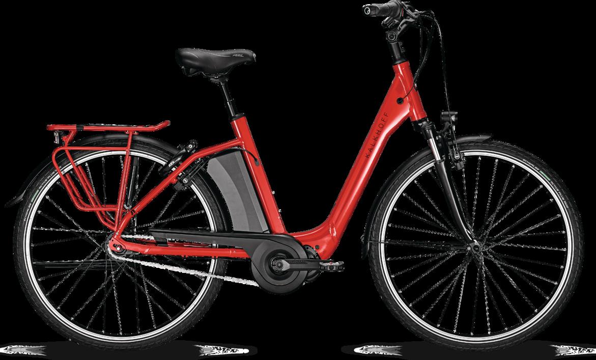 Kalkhoff AGATTU 3.S ADVANCE Dame 2020 - Rød | el-cykel