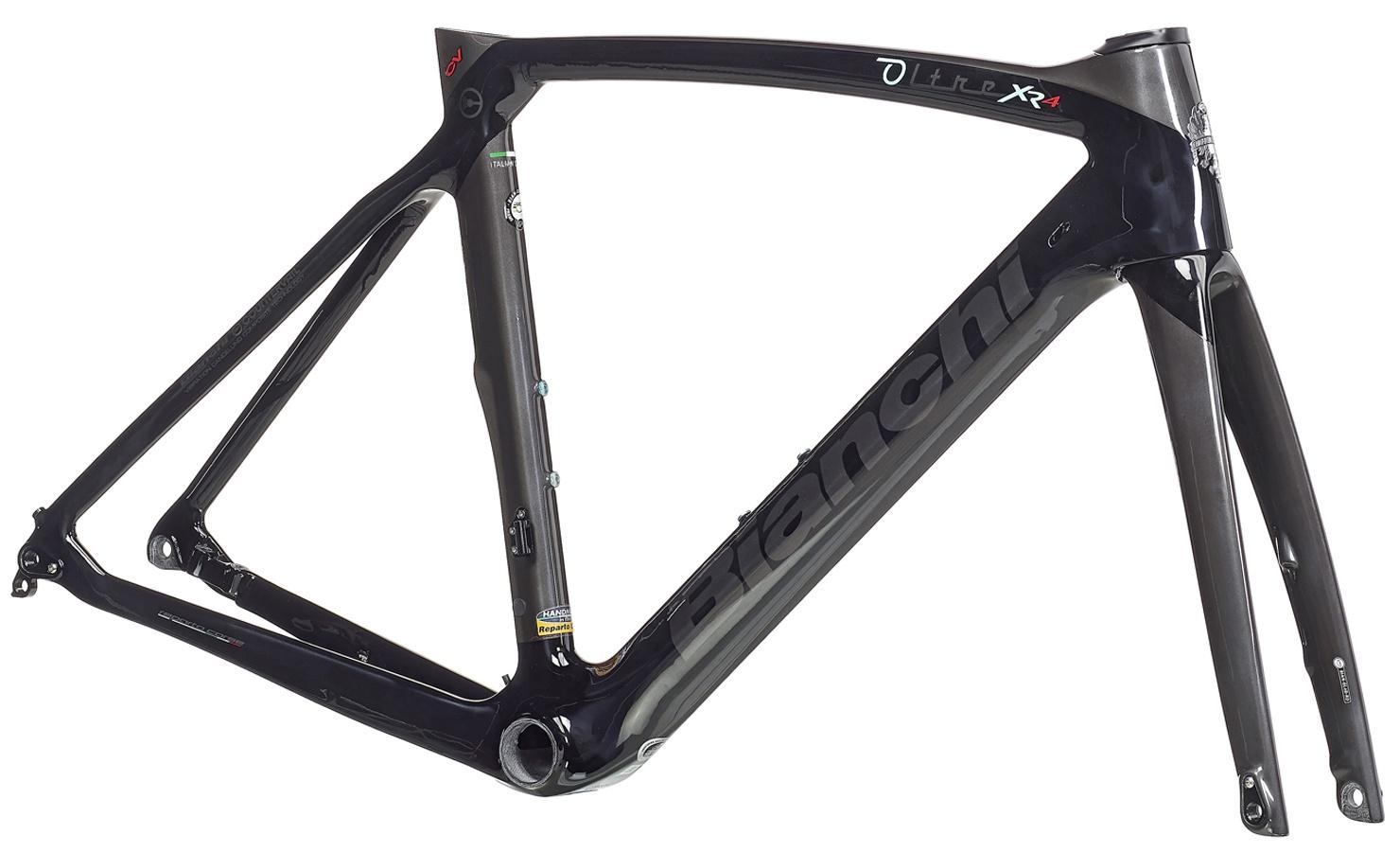 Bianchi Oltre XR4 CV Disc Rammekit 2021 - Sort  »  Bike Size: 53cm