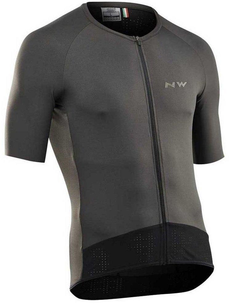 Northwave Essence Short Sleeve - Grå Beklædning > Cykeltøj Til Herre