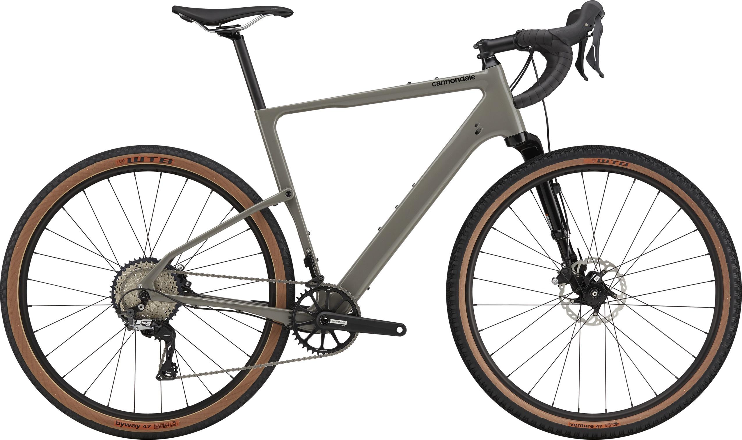 Cannondale Topstone Carbon Lefty 3 2021 - grå | cross-cykel