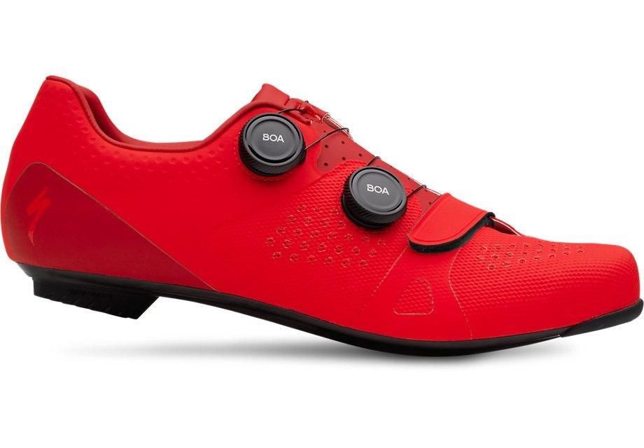 Specialized Torch 3.0 Road cykelsko - Rød  »  Shoe Size: 47