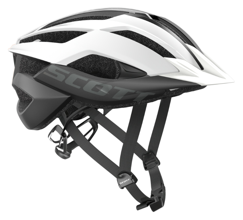 Scott ARX MTB Hjelm, White/Black