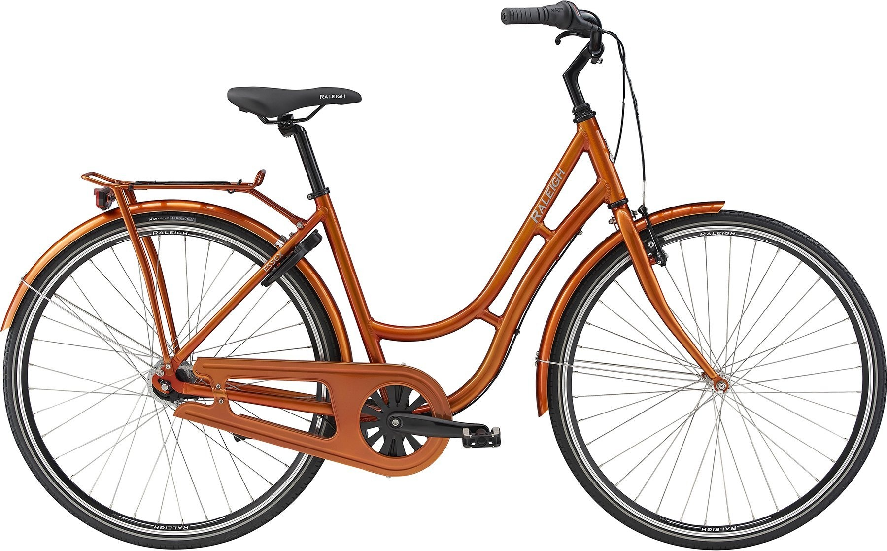 Raleigh Essex 7g Dame 2019 - Orange