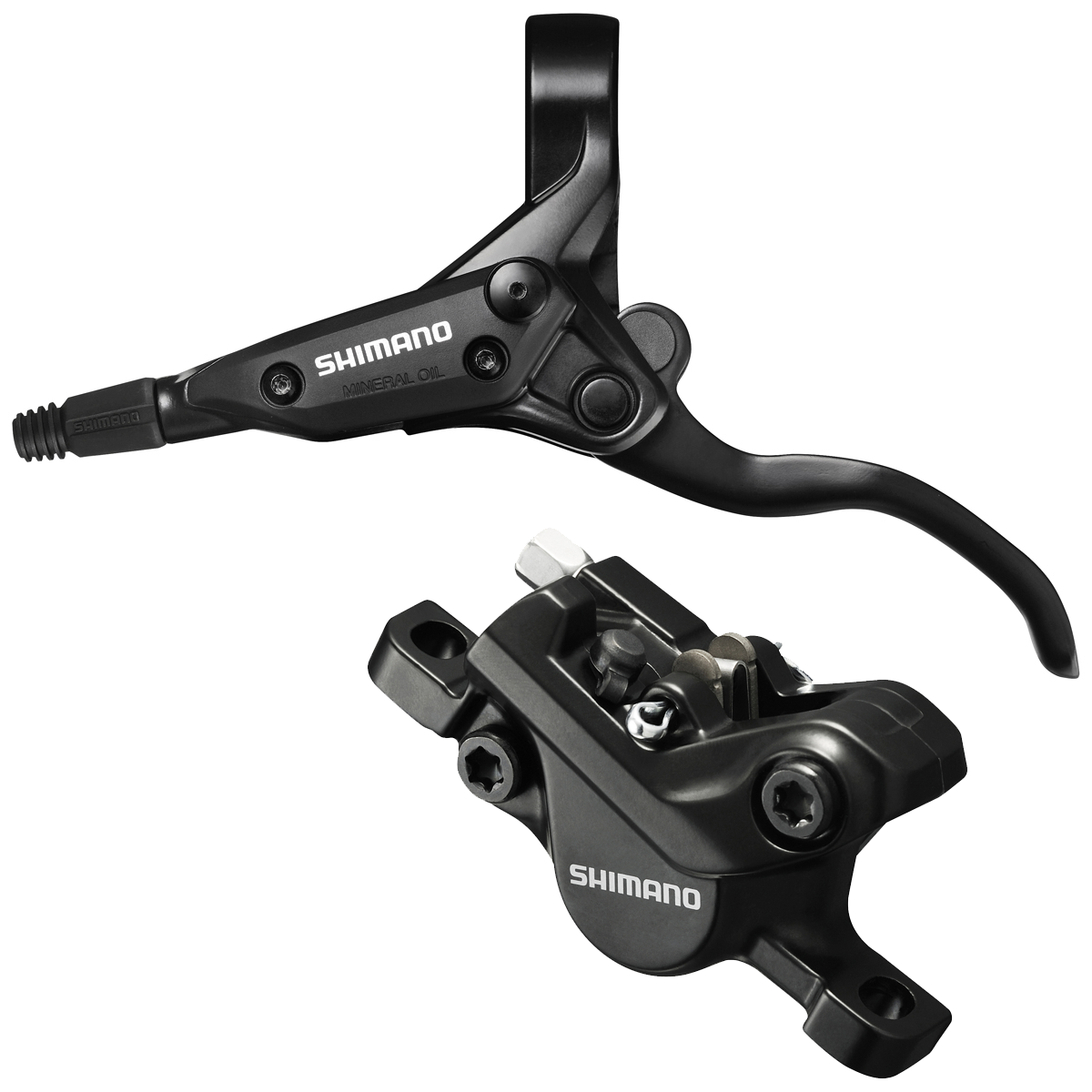 Shimano Skivebremsesæt For Sort M396 1000mm BH59