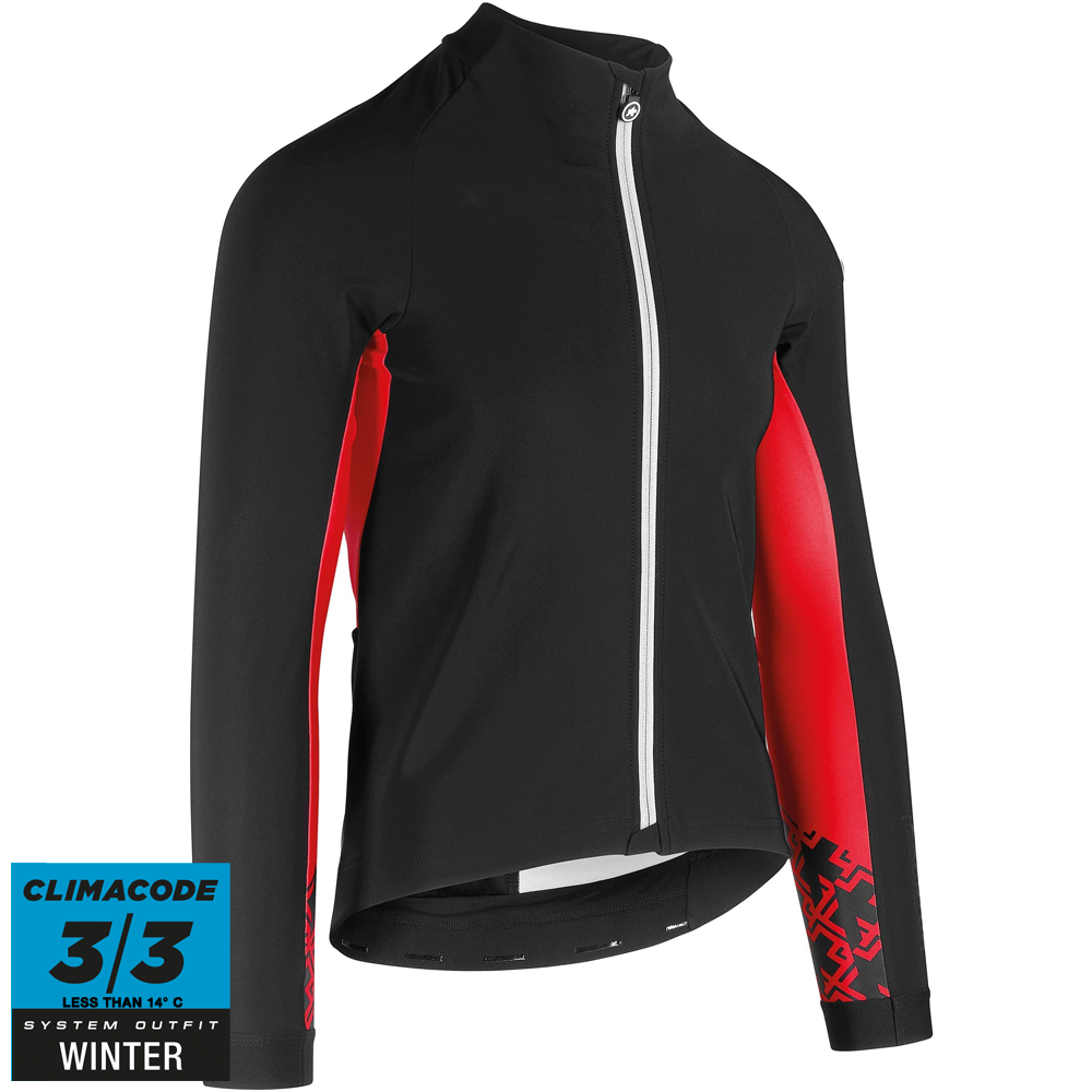 Assos Jakke Mille GT Jacket Winter - Sort/rød