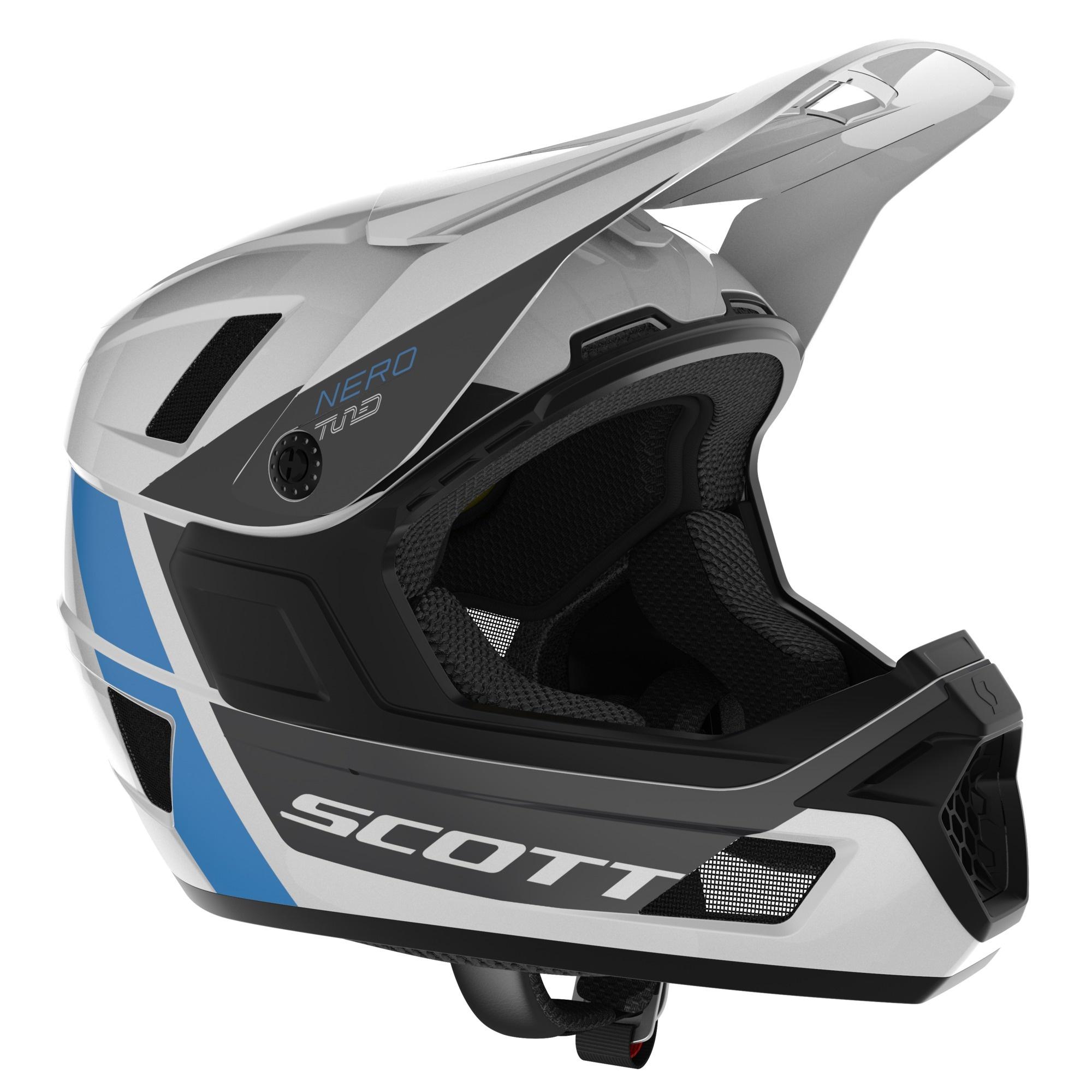 Scott Scott Nero Plus (Mips) Hjelm - Hvid Beklædning > Cykelhjelme