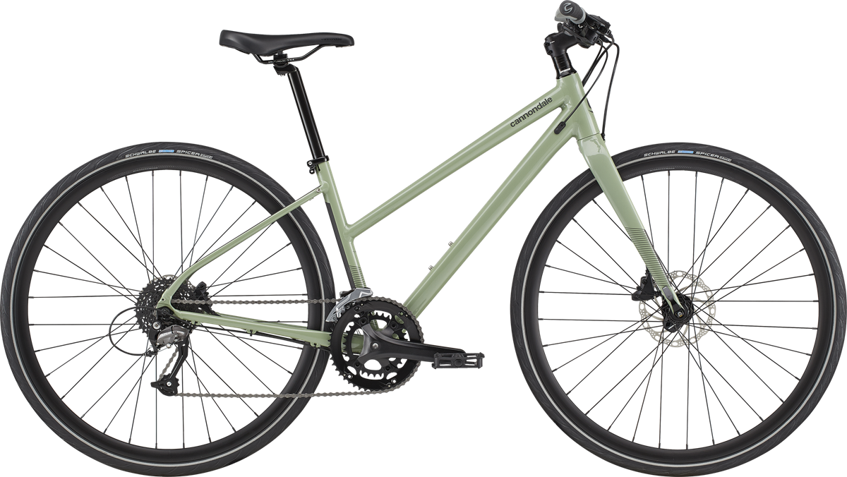 Cannondale Quick Women's 3 2020 - Grøn