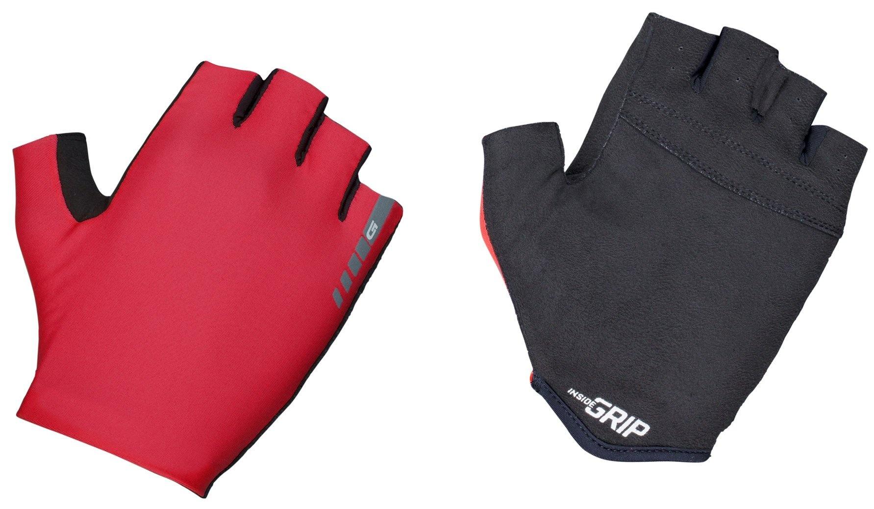 Gripgrab Aerolite Insidegrip™ Kortfingret Handske - Rød