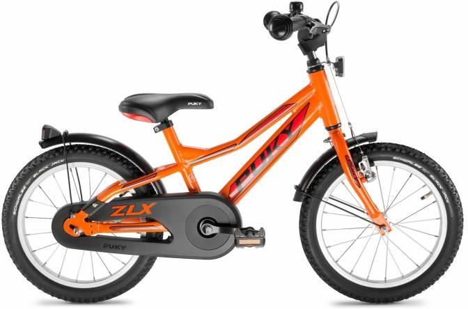 "PUKY ZLX 16"" 1 Alu Drengecykel, Orange"