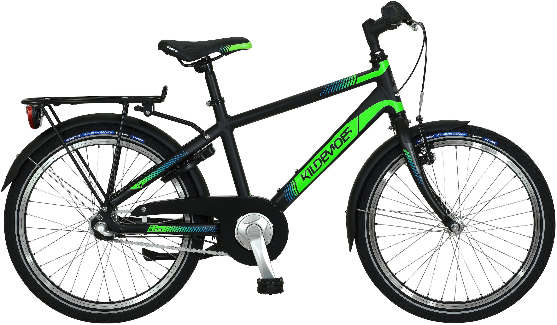 "Kildemoes Bikerz 20"" Dreng 2020 - Sort/Grøn"