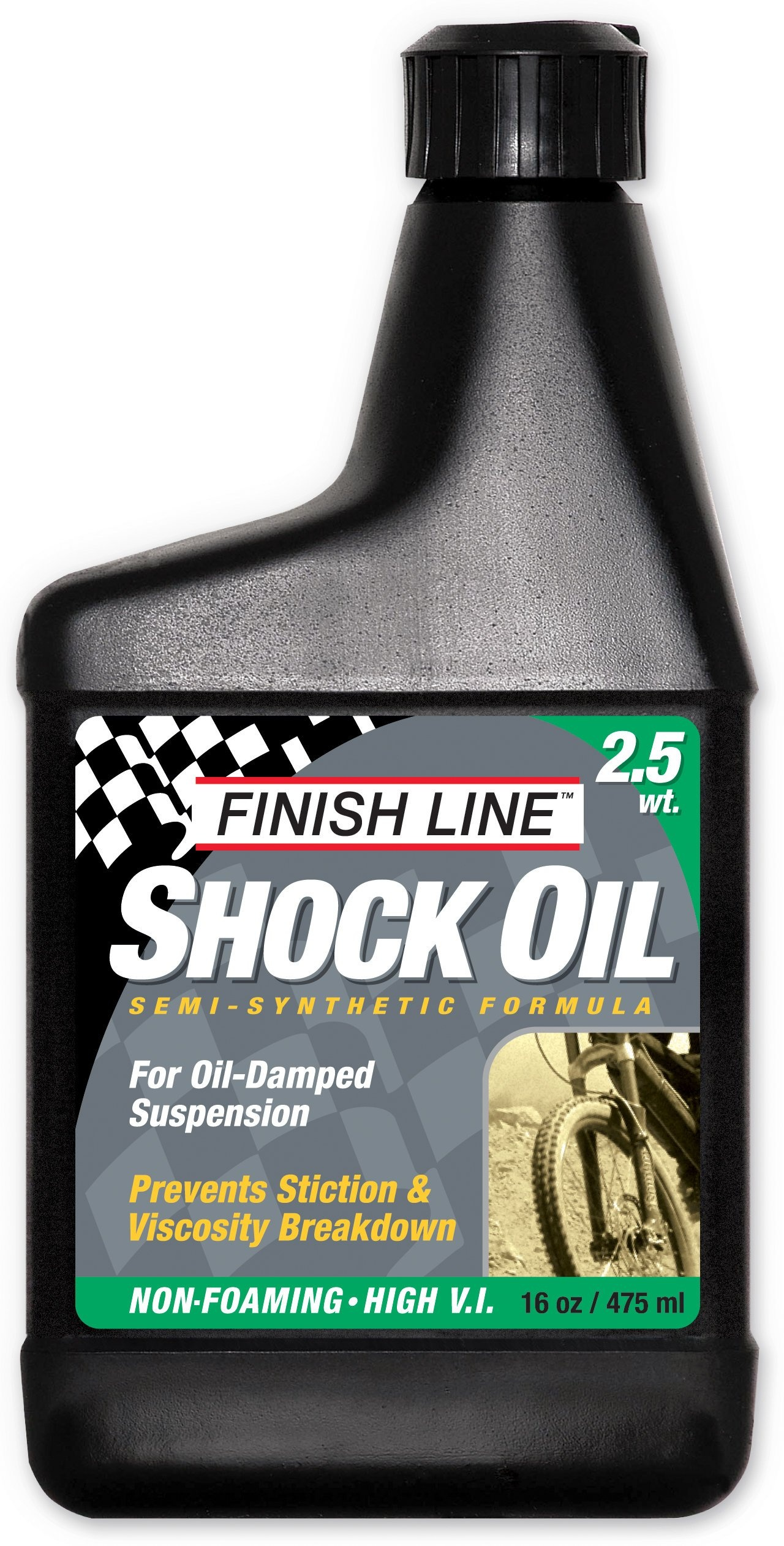 Finish Line Shock Oil Forgaffelolie 2.5wt