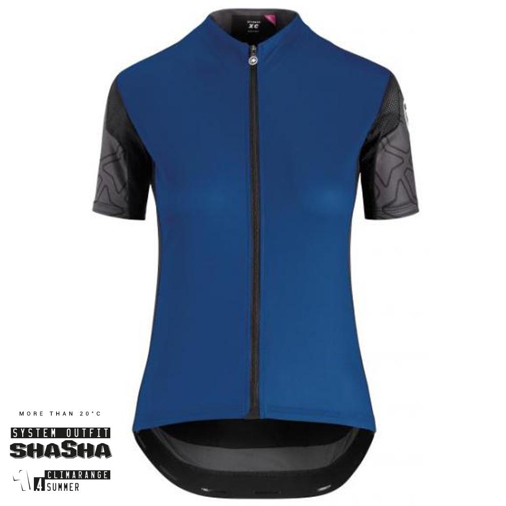 Assos Cykeltrøje XC Short Sleeve Jersey Dame, Blå
