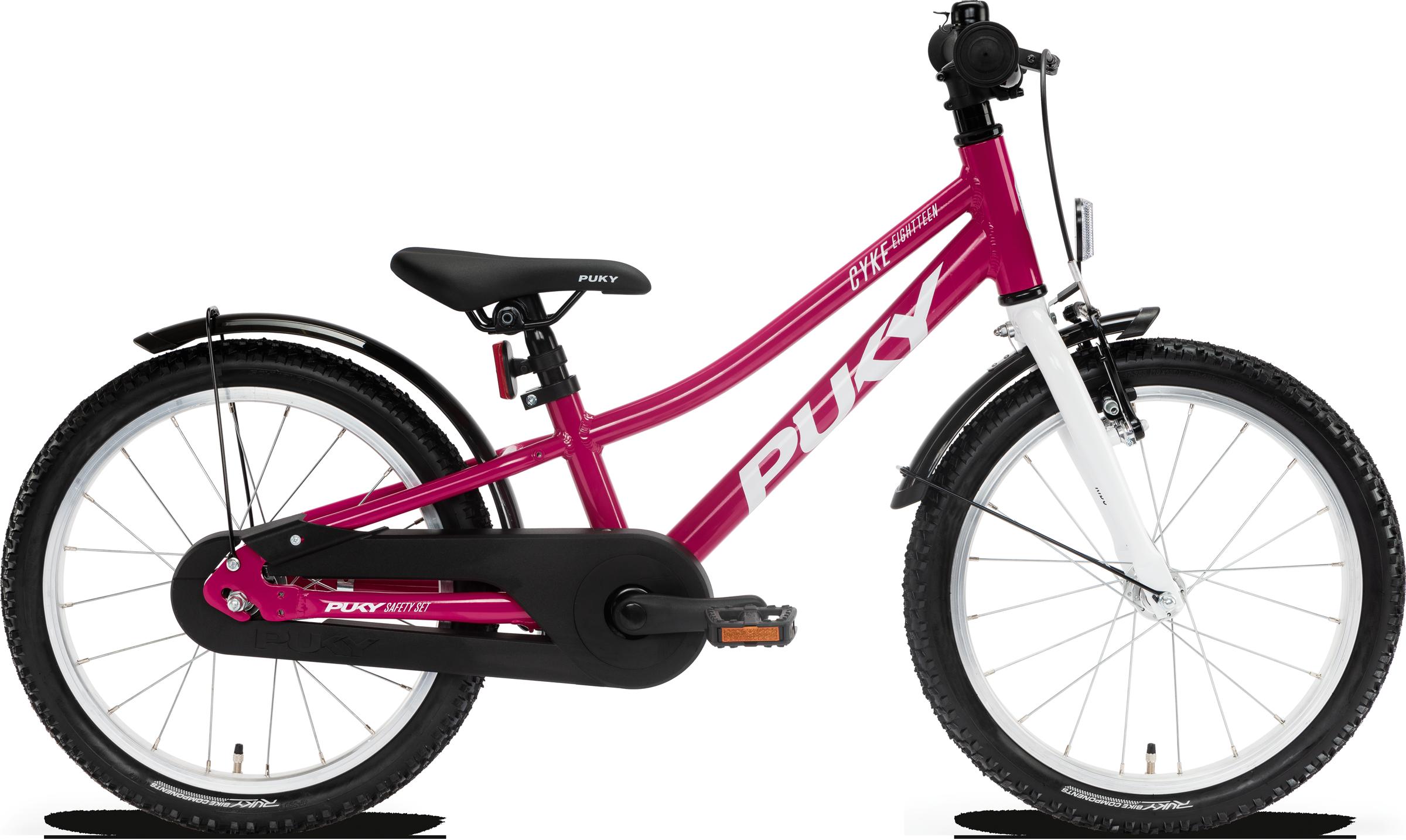 "Puky Cyke 18"" - Lyserød Cykler > Børnecykler"