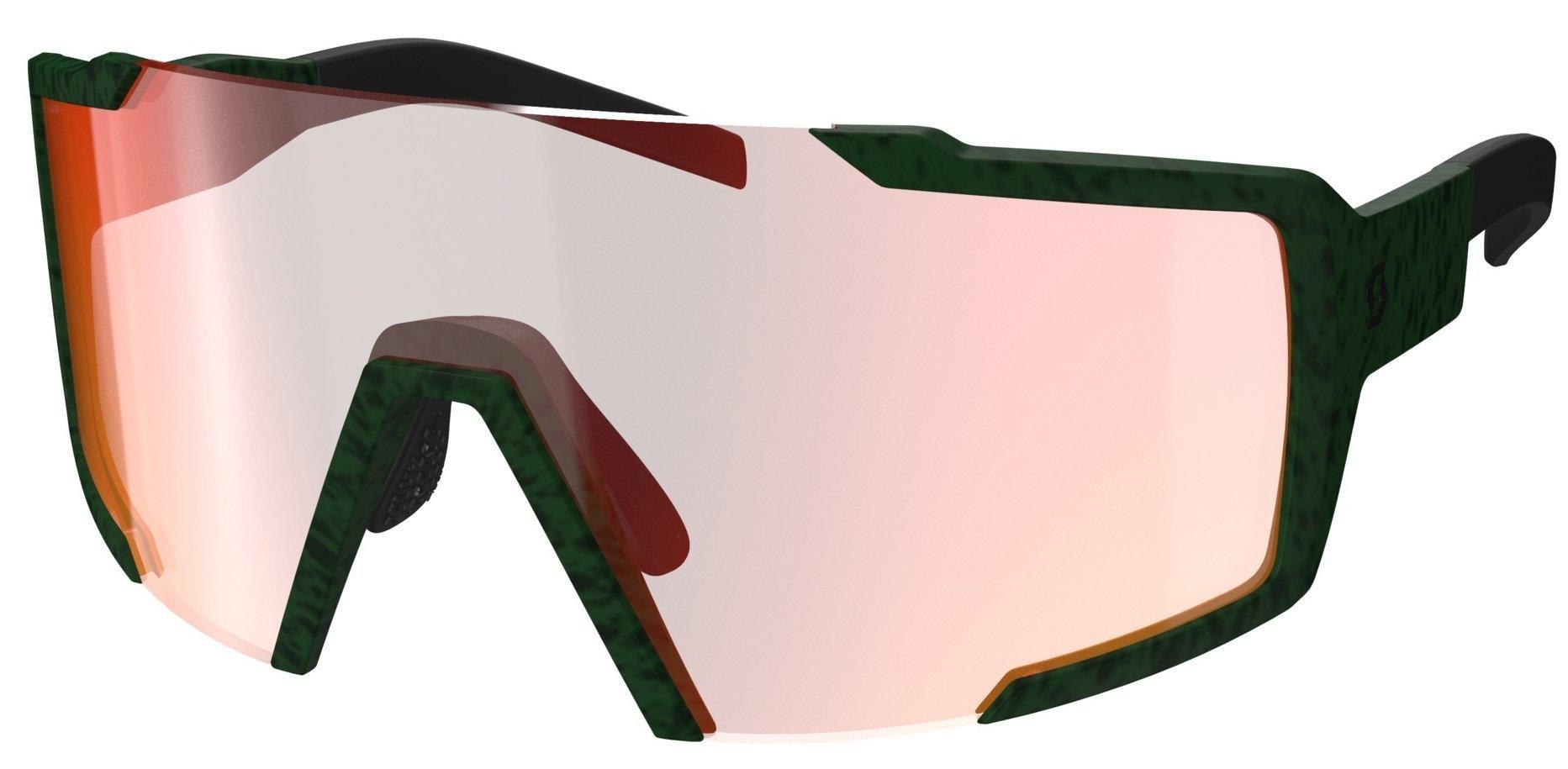 Scott Shield Solbrille - grøn